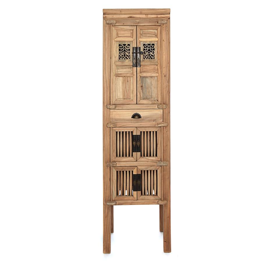 Armario rejilla 6p y 1c el globo mueblesel globo muebles - Armarios de madera para jardin ...