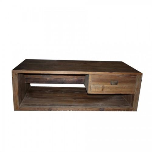 mesa de centro abeto reciclado