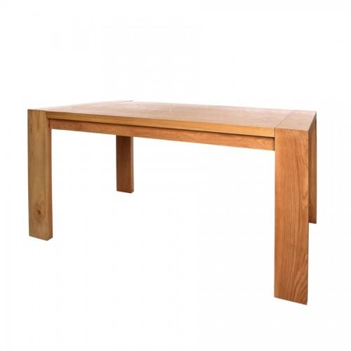 Mesa de comedor madera reciclada y forja el globo for Muebles comedor madera