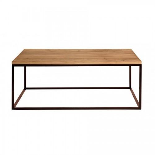 Mesa rincon de hierro y madera el globo mueblesel globo muebles - Mesa centro madera y hierro ...