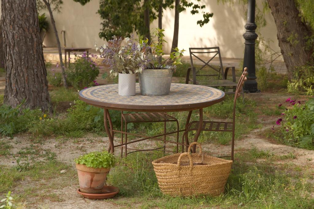 Tablero Marruecos en jardín